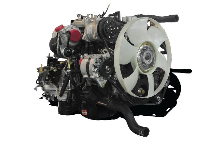 Động cơ xe tải nhẹ Dothanh IZ150/200/250
