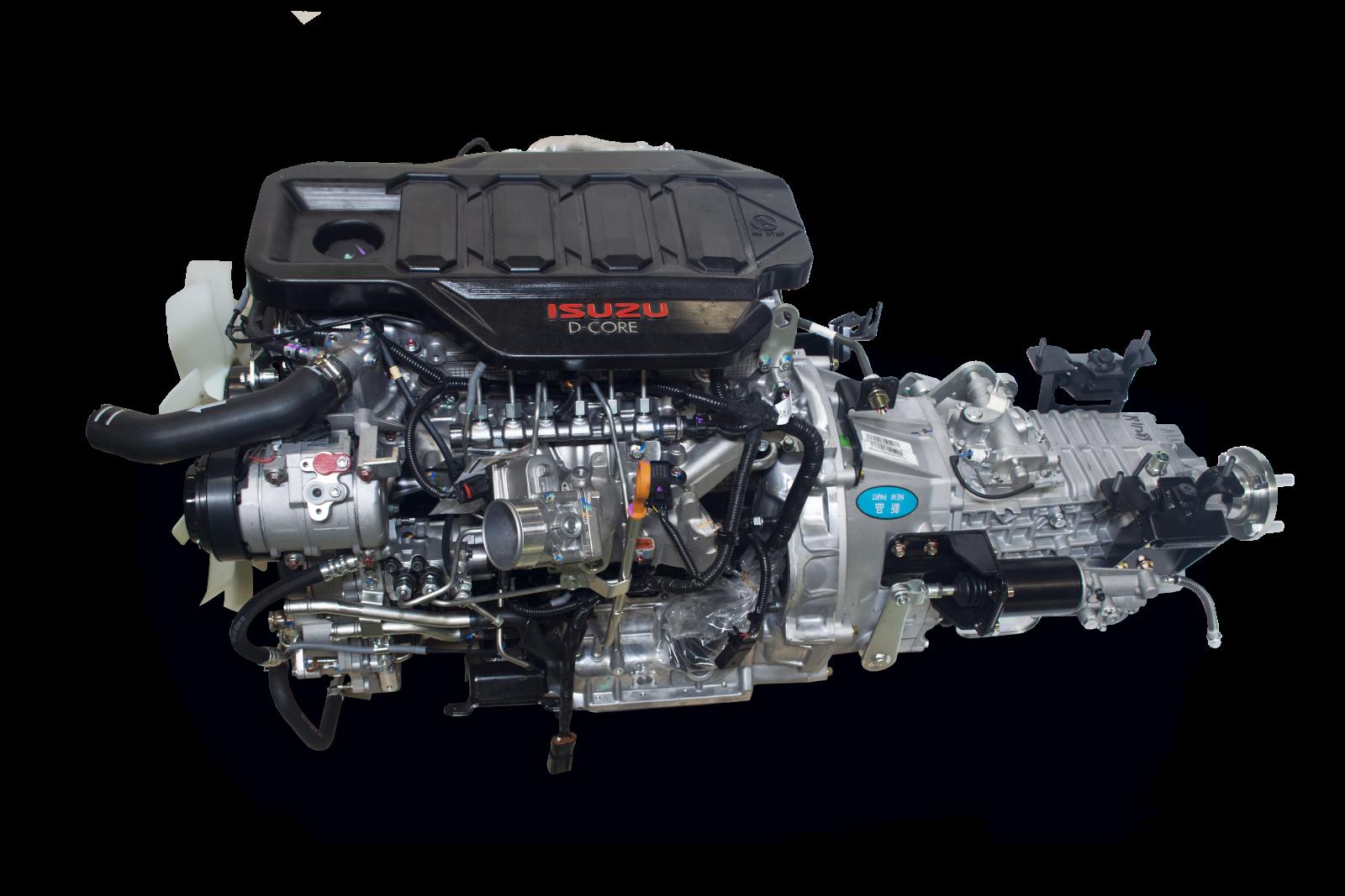 Động cơ Isuzu 4JJ1GD của xe tải Dothanh IZ650SE